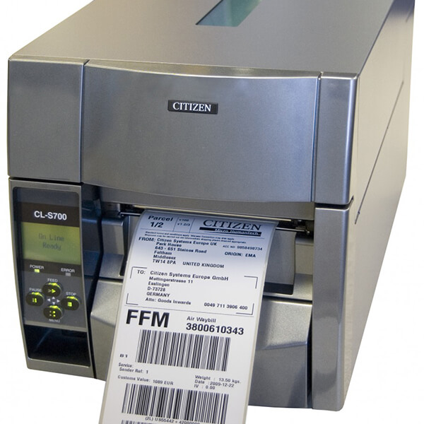 Industrial barcode label printer Citizen CL-S700DT