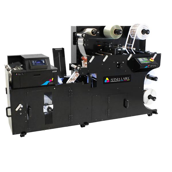 DLP-2100 може да печата, изрязва и завършва етикети с скорост до 18 метра в минута, което го прави най-бързата преса за цифрови етикети